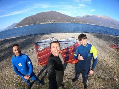 Slalom with friends